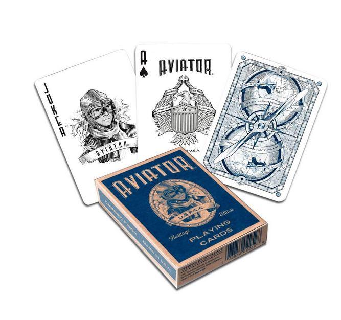 jeu de carte cartomagie de marque aviator