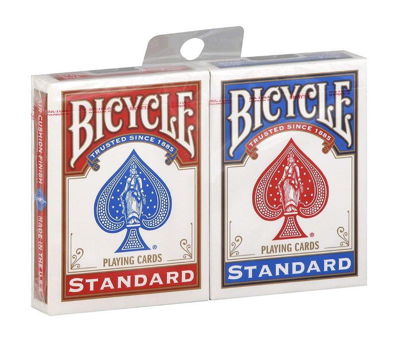 pack de cartes bicycle pour magicien